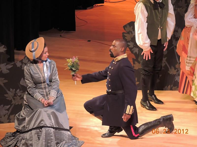 Belcore in L'elisir d'amore with Opera at Florham
