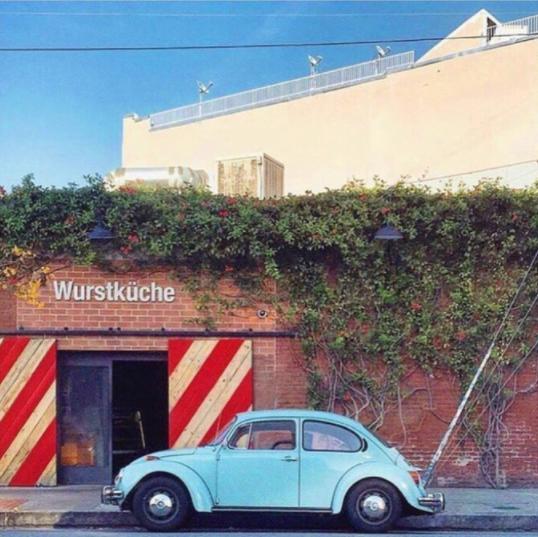 La La Local Wurstkuche, Arts District, Downtown Los Angeles