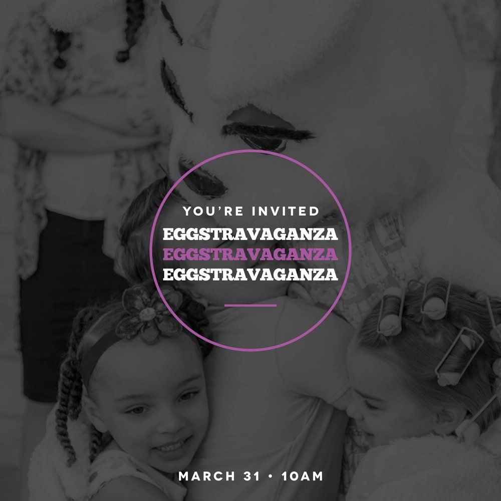 Eggstravaganza Invite