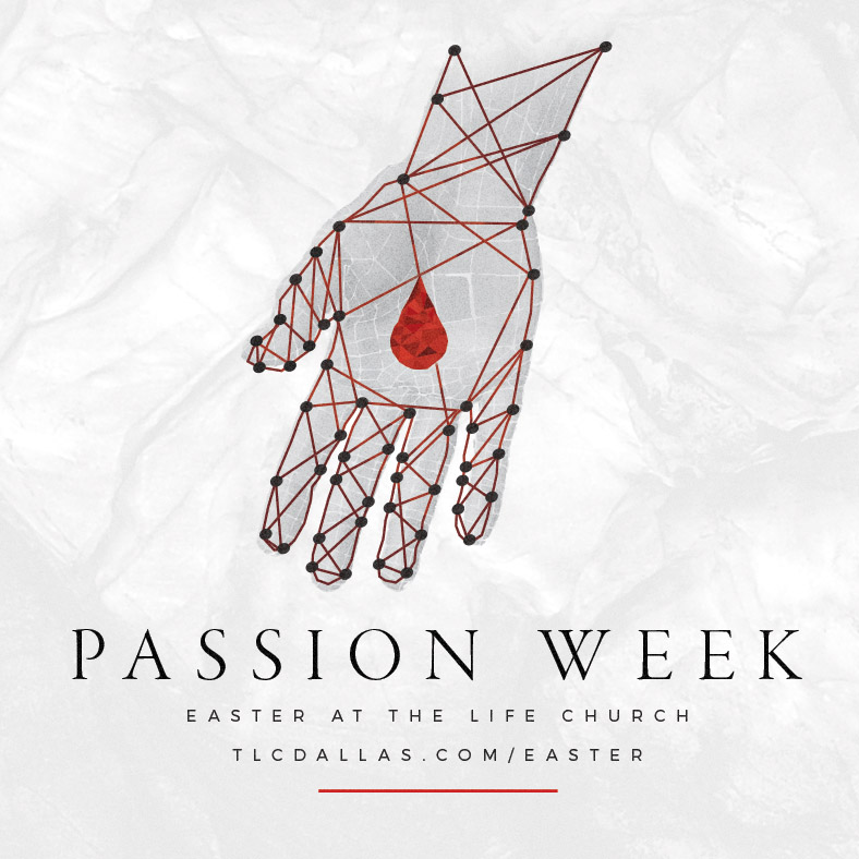 Passion Week Invite