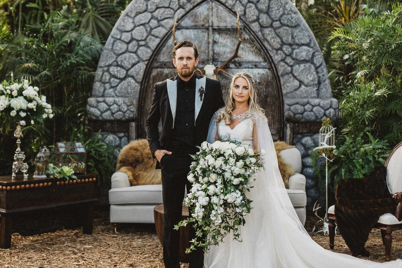 Game Of Thrones Westeros Secret Wedding Revealed Blue Orchid Events Design