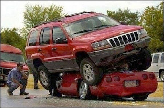 Is it reasonable to assume the person who witnessed this accident might be traumatized?
