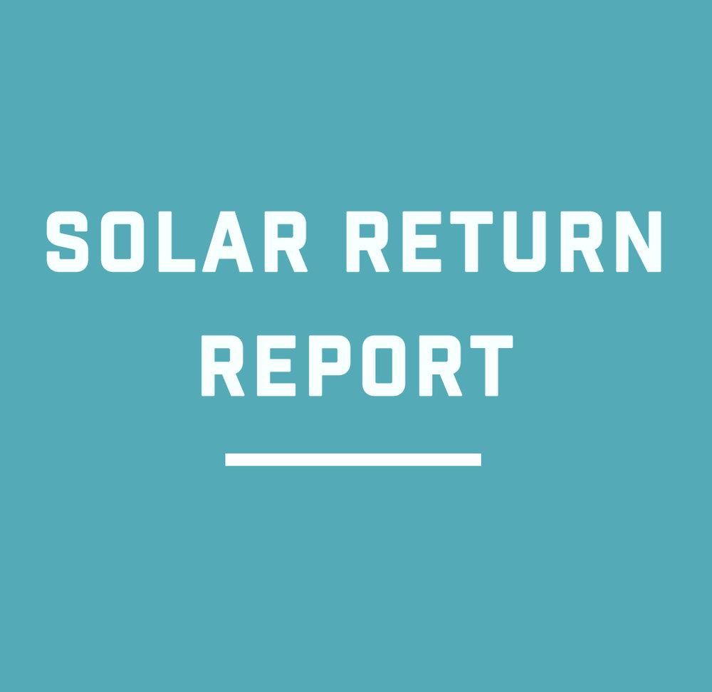 134ec94ad Solar Return Report — Guiding Star Astrology