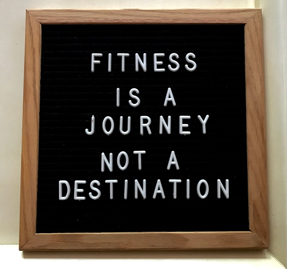 Fitness is a Journey