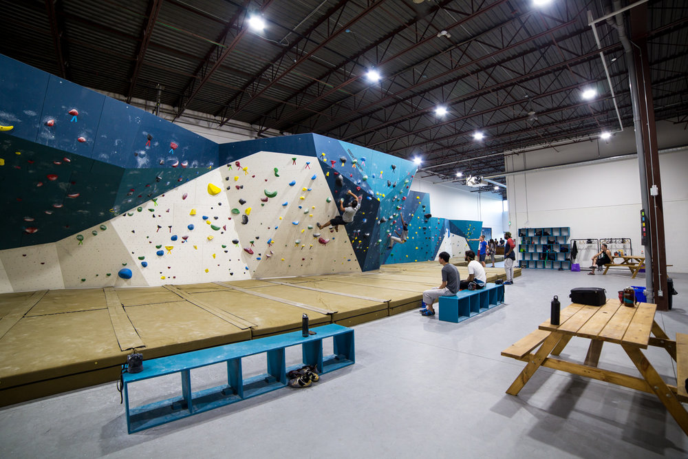6000 sq ft of bouldering -