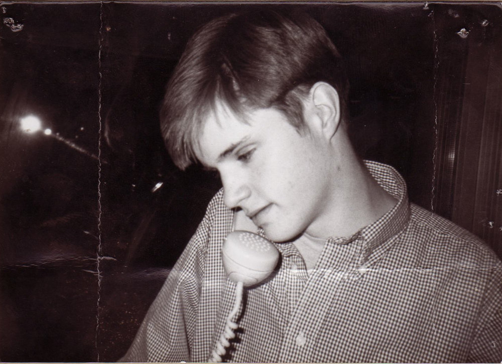 June 13, 2018 - Our Journey With Matthew Shepard - Matthew Shepard on phone, photo credit Matthew Shepard Foundation.jpg