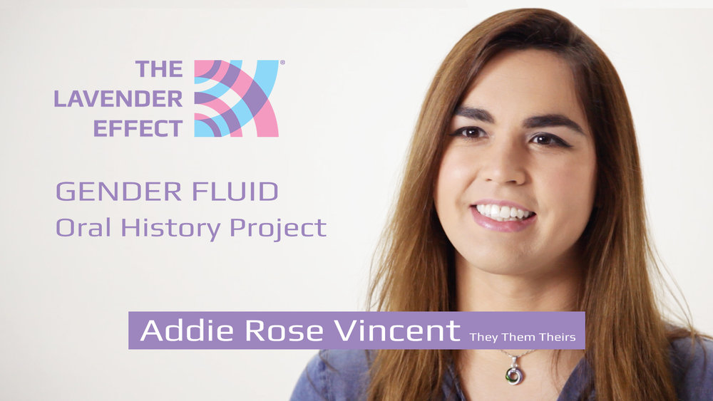 June 30 - Gender Fluid Oral History Project - Screetshot of Addie, courtesy of The Lavender Effect.jpg