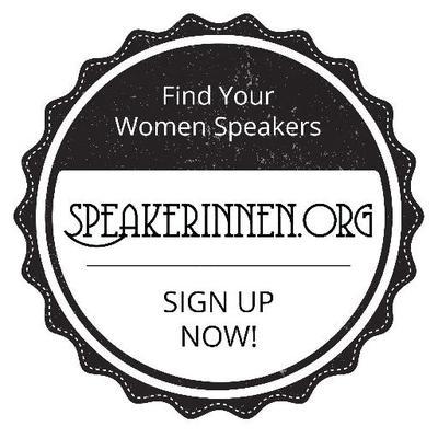 Speakerinnen.org - mehr Frauen auf die Bühnen! Das ist das Motto und das Ziel bei Speakerinnen.org und Speakerinnen Liste. Sie bieten eine Plattform, um Rednerinnen, Referentinnen & Moderatorinnen schnell und einfach für Ihre nächste Veranstaltung zu finden. `(Bei Speakerinnen Liste) sind (wir) davon überzeugt, dass es viel mehr kompetente Frauen gibt, als auf den Bühnen sprechen. Mädchen brauchen weibliche Vorbilder, Frauen brauchen die Gewissheit, dass eine andere - ihre - Sicht auf ein Thema genauso relevant ist. Veranstaltungen brauchen mehr Diversität.´Mehr erfahren.