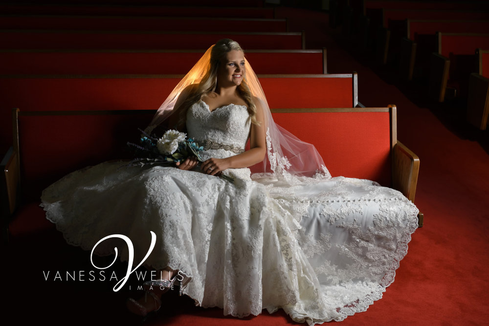 Wedding Photographer in OKC Bridal Portrait