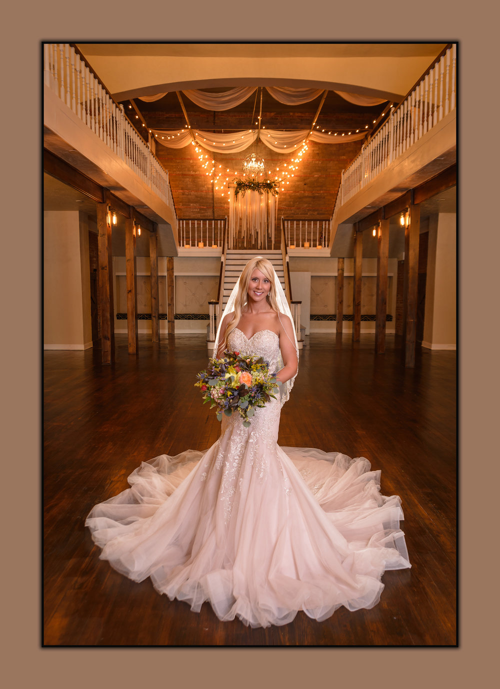 OKC Wedding Photographer, On location, bridal, The Grand Canadian Theater