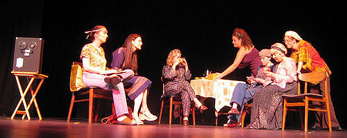 Photo from Golden Gate Planned Parenthood production at Brava Theater, San Francisco""