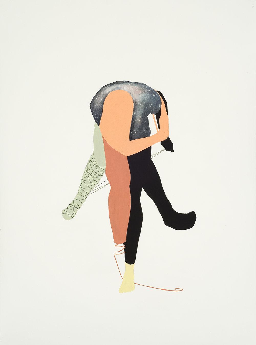 """Sur Place, 22"""" x 30"""", 2012"""
