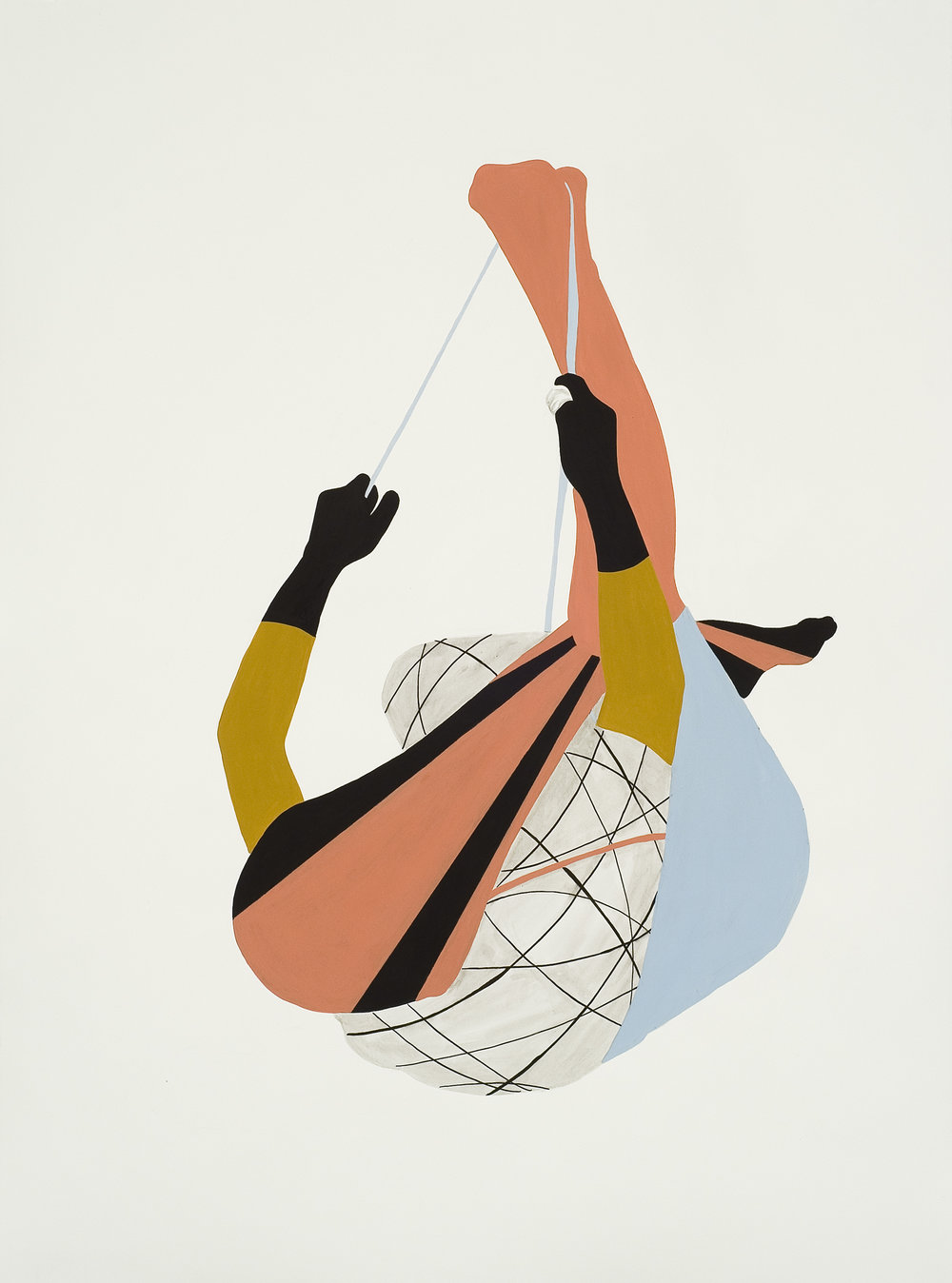 """Haller; Tirer, 22"""" x 30"""", 2012"""