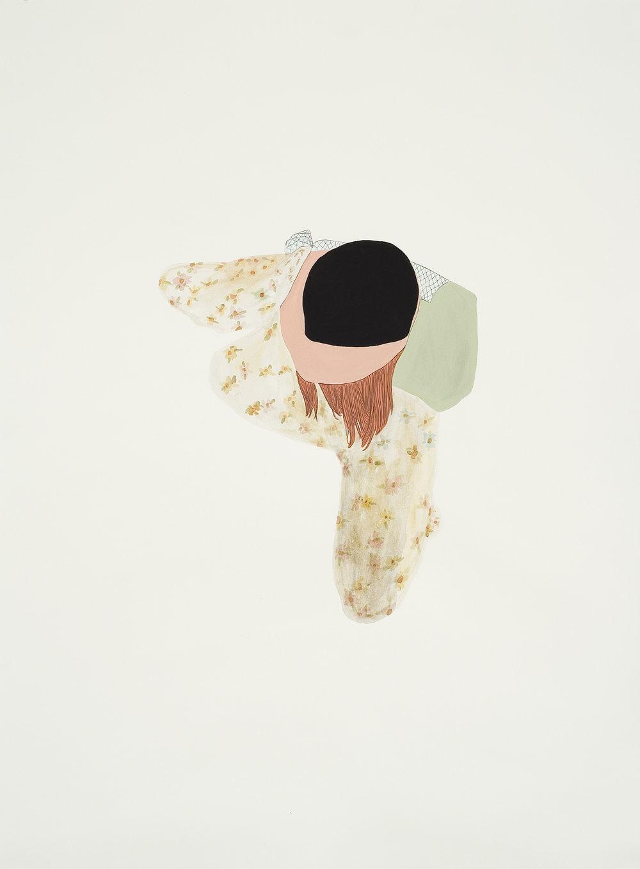 """Cascade, 22""""x 30"""", 2012"""
