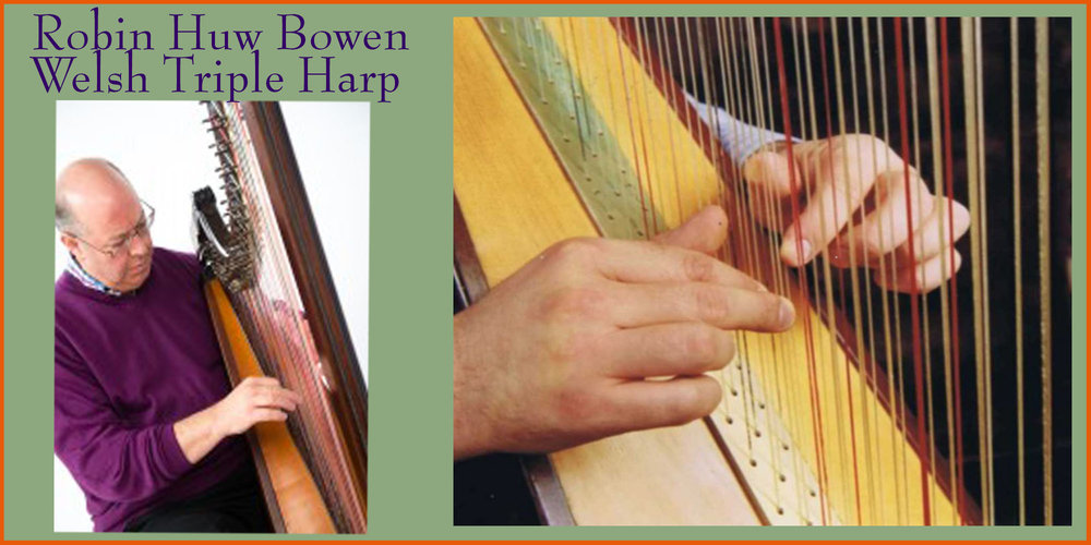 Robin Huw Bowen on Welsh Triple Harp