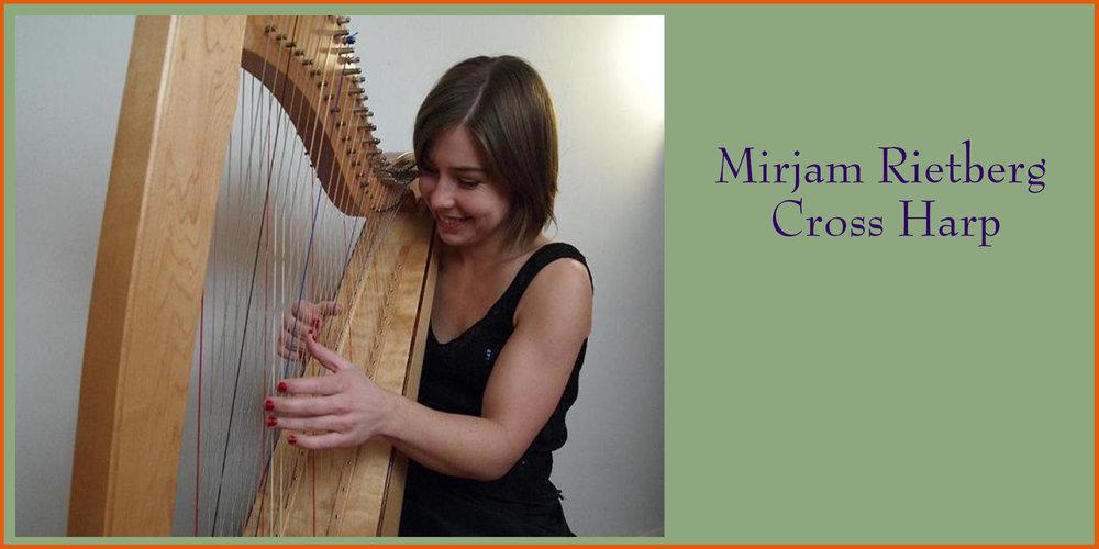 Mirjam Rietberg on Cross Harp