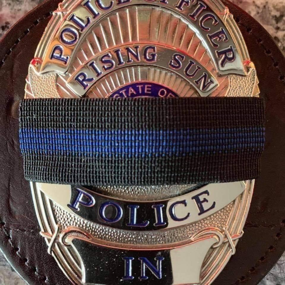 Rising Sun Police mourn.