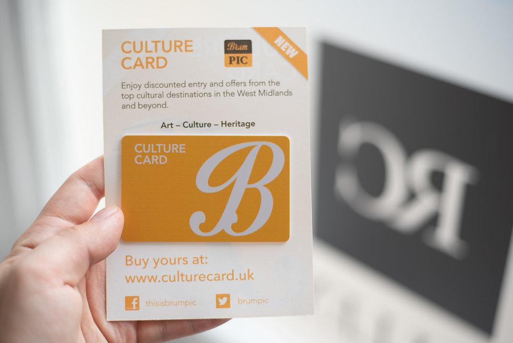 Culture card -