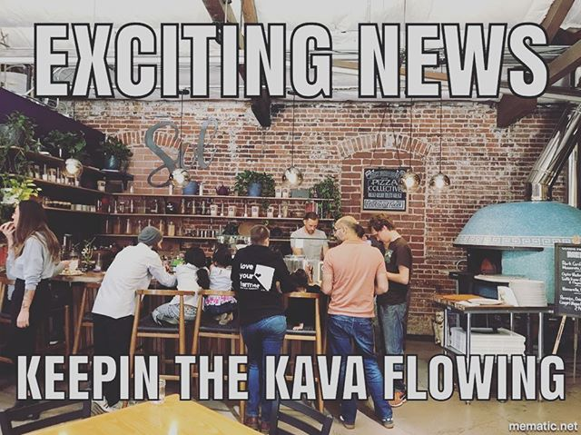 As many of you have seen, West Street Market has added a Pizza Collective which will be operating in the same space as Sol. The kava will continue to flow, but for the time being, will be closed Tuesdays and Wednesday's. #staytuned #hypetheweekend #kava #relaxyourbody #calmyourmind
