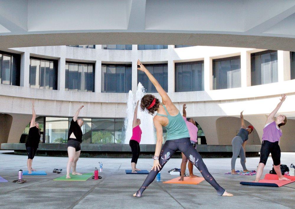 Summer Yoga Program