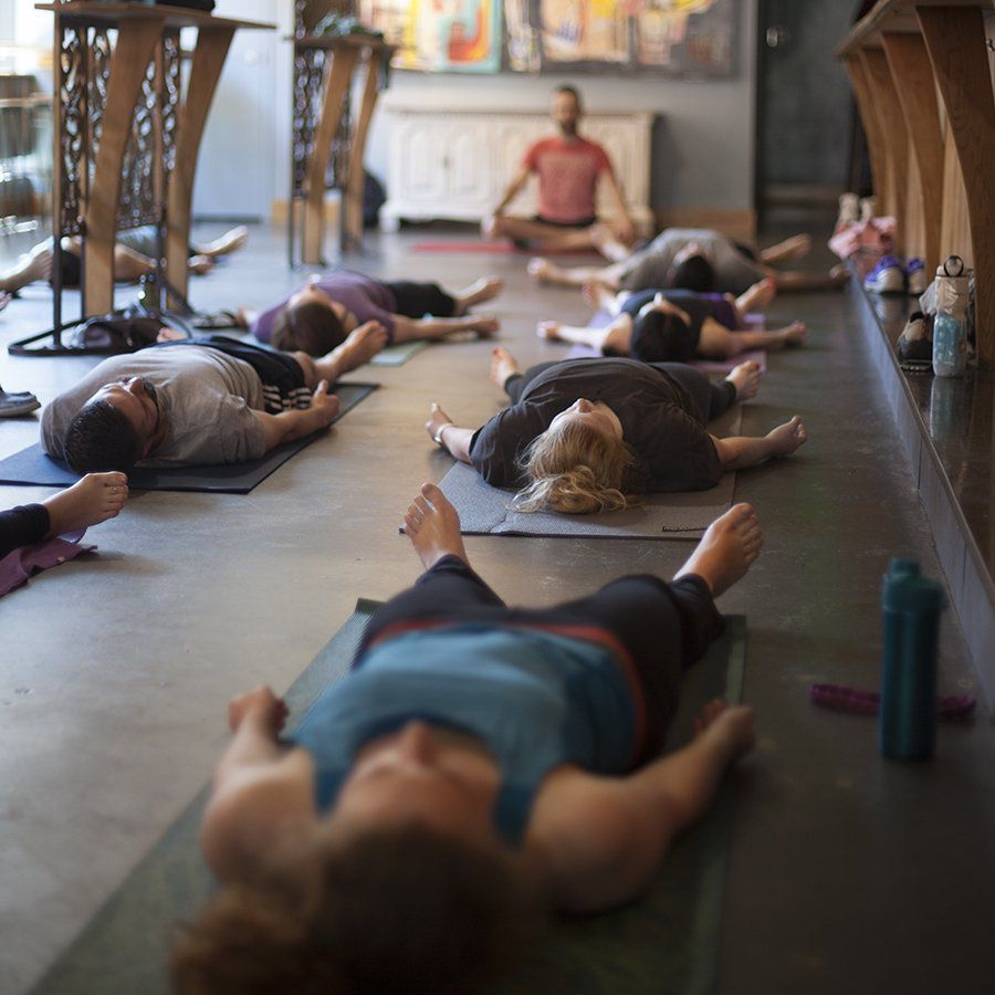 Beer Yoga - Washingtonian