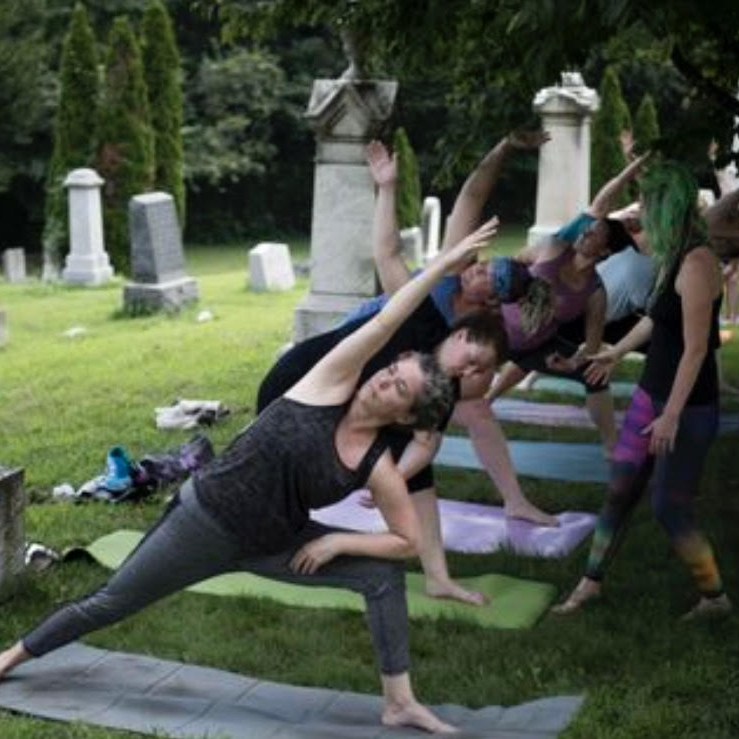Yoga Mortis + Kennedy Center - Washington Post