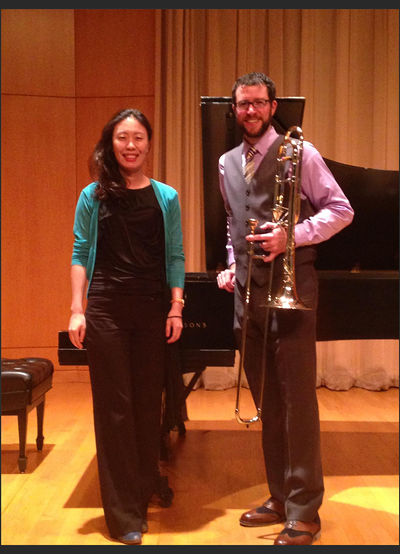 Tim Smith, trombone 2014