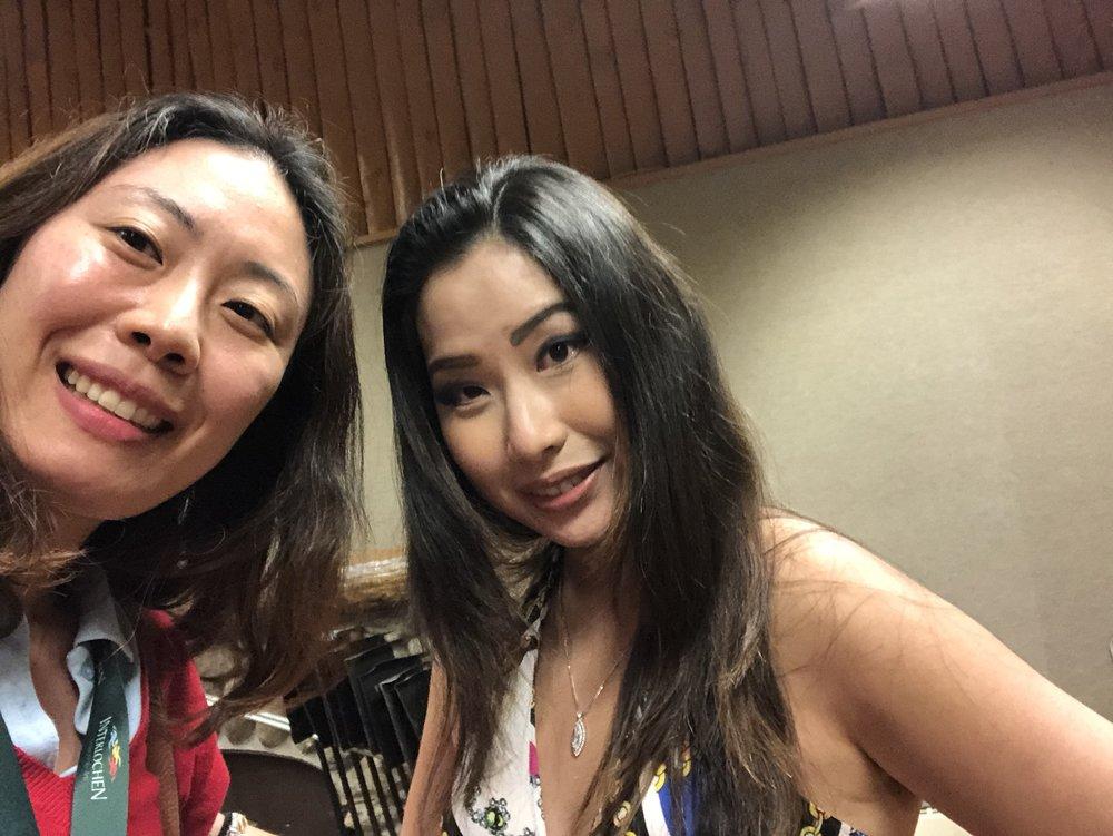 Sarah Chang!