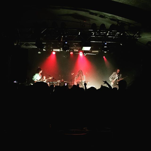 #this4love @operaupclose: almost 15 years after I first saw @mysteryjets, this week I went back for a night of their jetrospective @thegaragehq and I still loved it