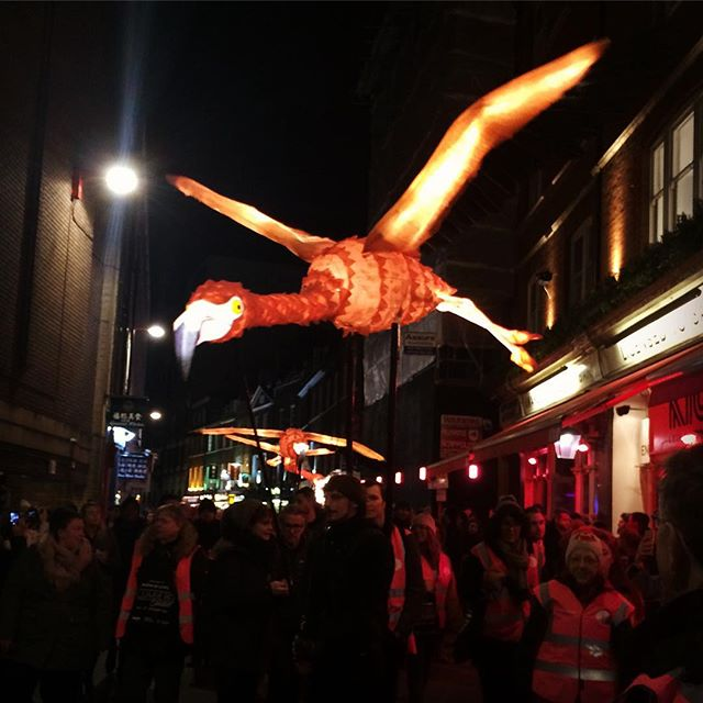 Magnificent creatures over China Town last night @artichoketrust #lumiereLDN . . . . . . . #lumiere #lumieres #lumierelondon #lightsoverlondon #bigsmoke