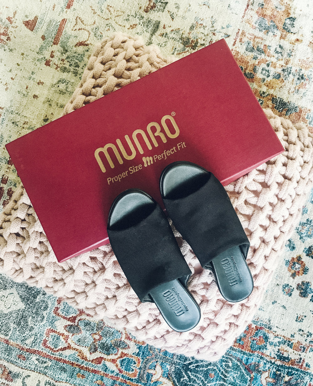 60956d2d2416 The shoe I like to put on for all occasions is the Munro Beth slide sandal.  It s a single strap stretch sandal on a 1 inch heel and a very soft  comfortable ...