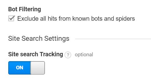 Bot filtering