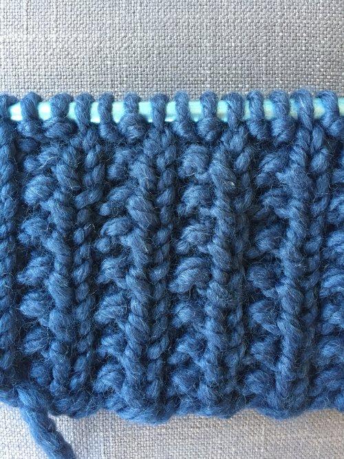 How To Knit The Farrow Stitch Knit Freely