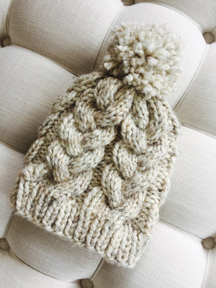 Knit Cable Hat Pattern — Knit Freely