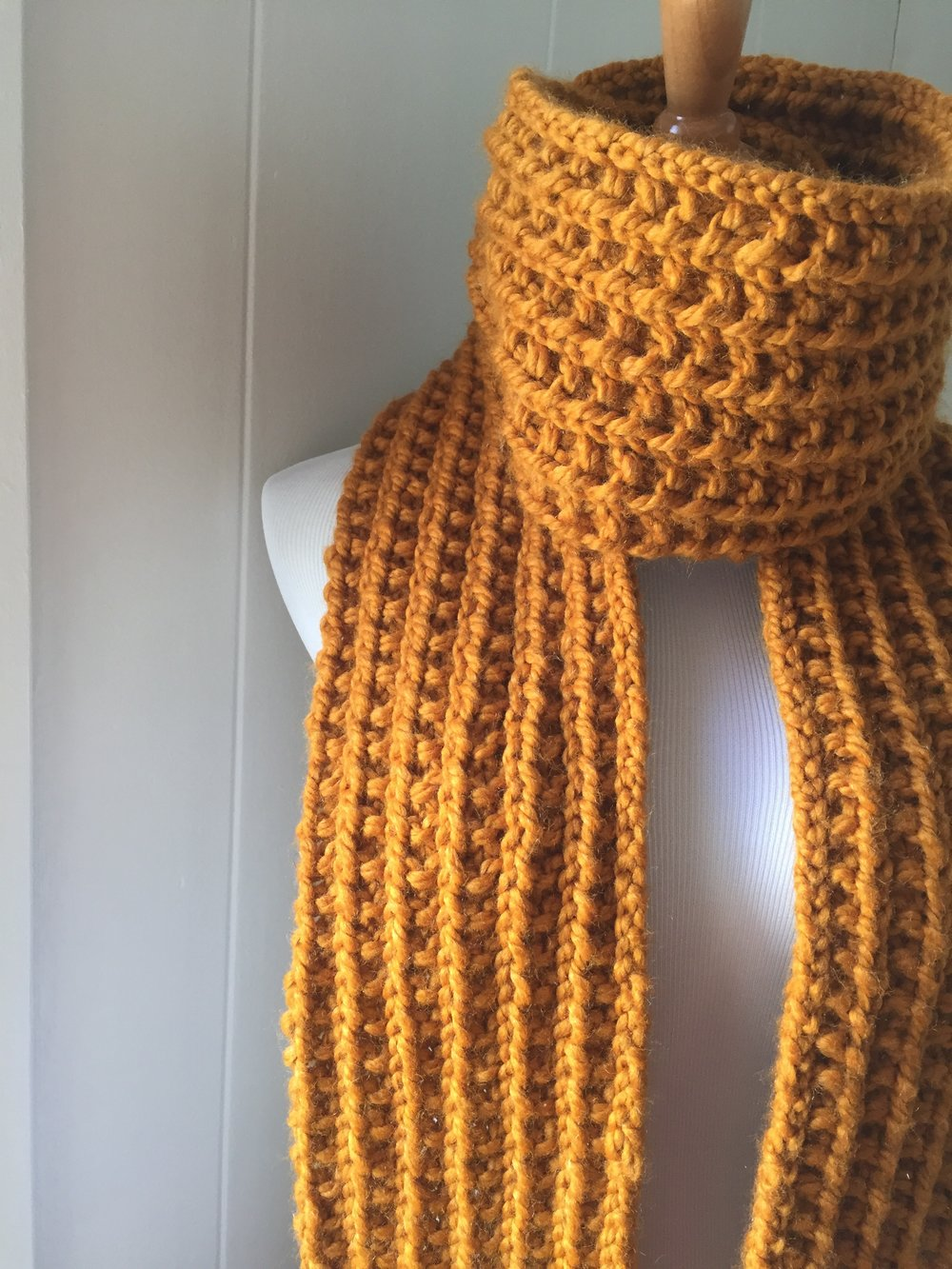 Farrow Stitch Scarf
