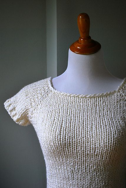 Summer Raglan Sweater Pattern