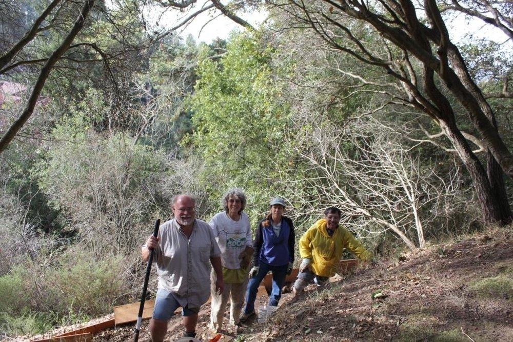 Path builders, Steve, Melissa, Jaz, Bob.jpg