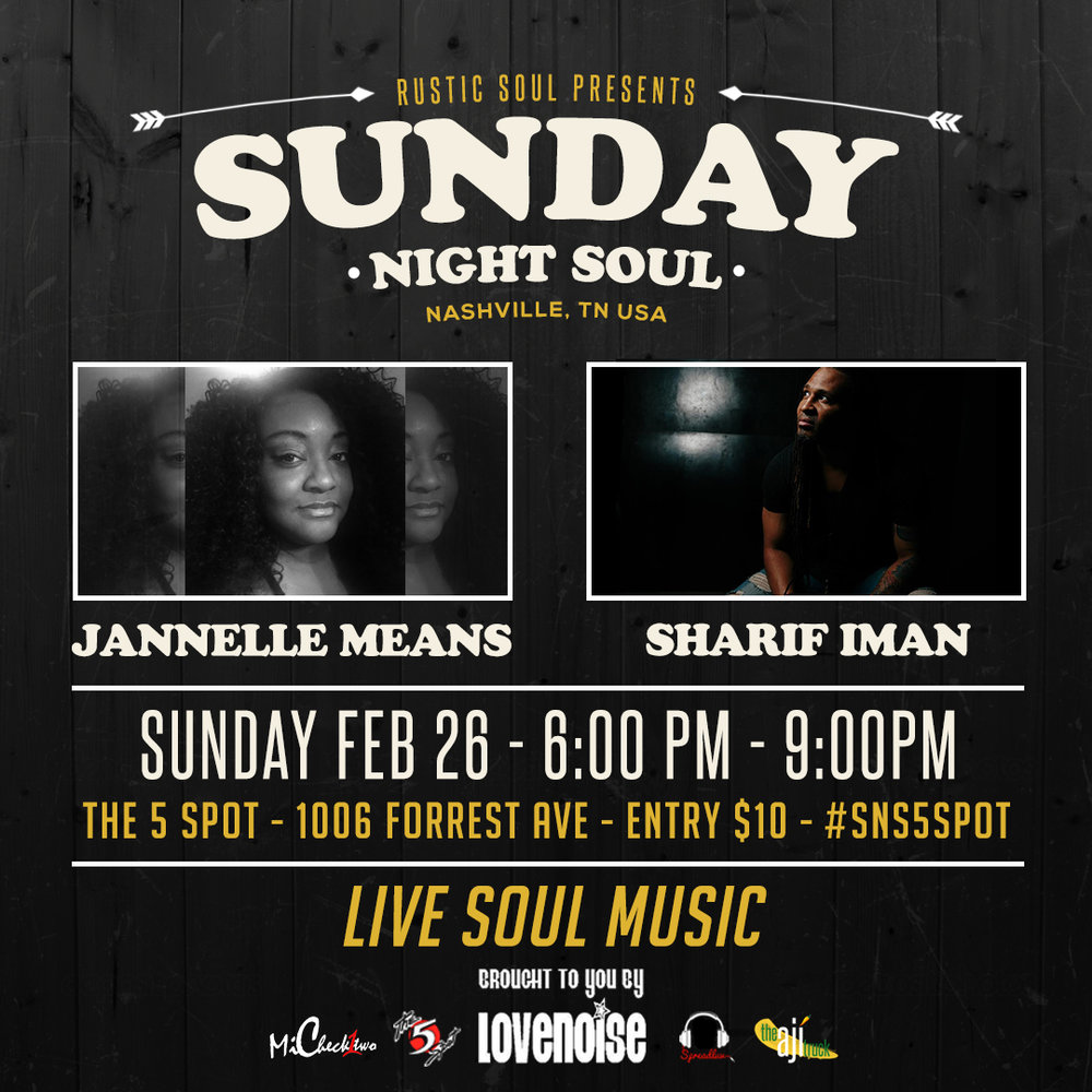 Calendar — Sunday Night Soul