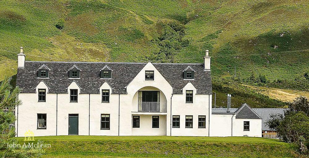 Loch Duich apartments - limeworks
