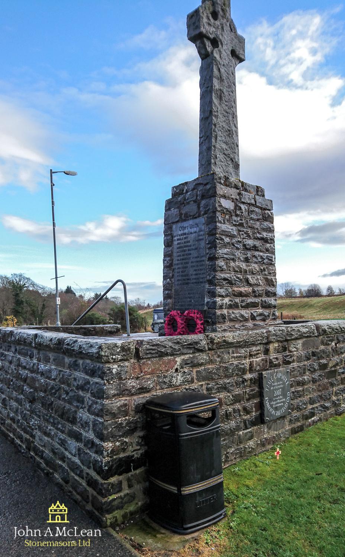 Evanton war memorial