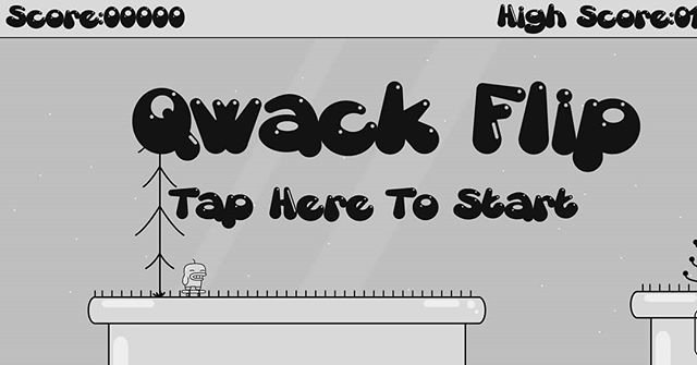 Qwack Flip is now Available on Google Play. IOS coming next week. #gamedev #indiedev #ios #android @thekinghasspoken  https://play.google.com/store/apps/details?id=com.nocturnalgaming.skatepork