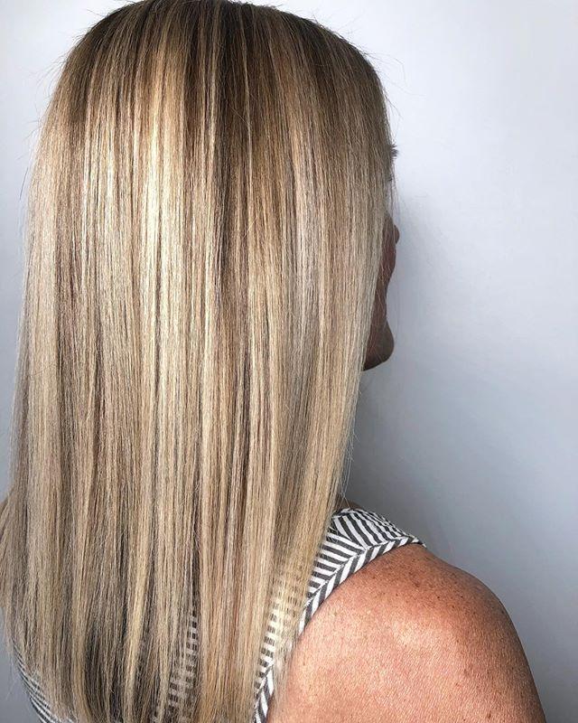 Healthy hair=shiny hair= youthful hair #shes70 #😍
