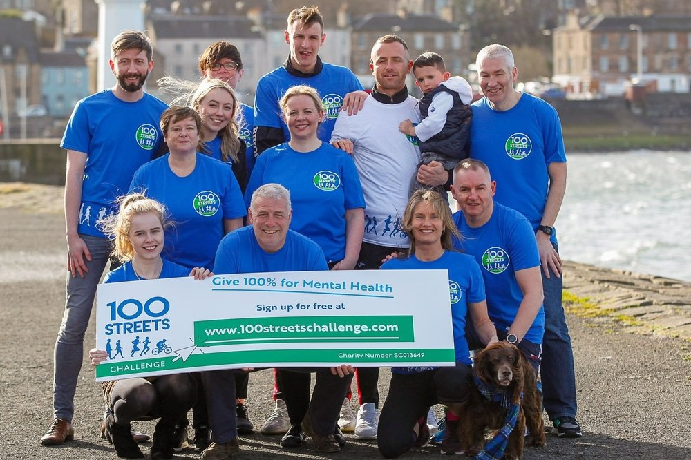Join us in 2019 - Scotland and British Lions rugby great Scott Hastings and his wife Jenny - both Charity Ambassadors for Support in Mind Scotland - led the campaign in 2017 and 2018.Joggers, walkers and cyclists of all ages from Kinross to California have taken part, and Scott and Jenny will be backing the campaign again in 2019.And joining the campaign this year is our newest ambassador, gold medalist sprinter, Maria Lyle!The aim of the campaign is to raise mental health awareness, raise funds for Support in Mind Scotland's mental health services and to promote good physical and mental health.