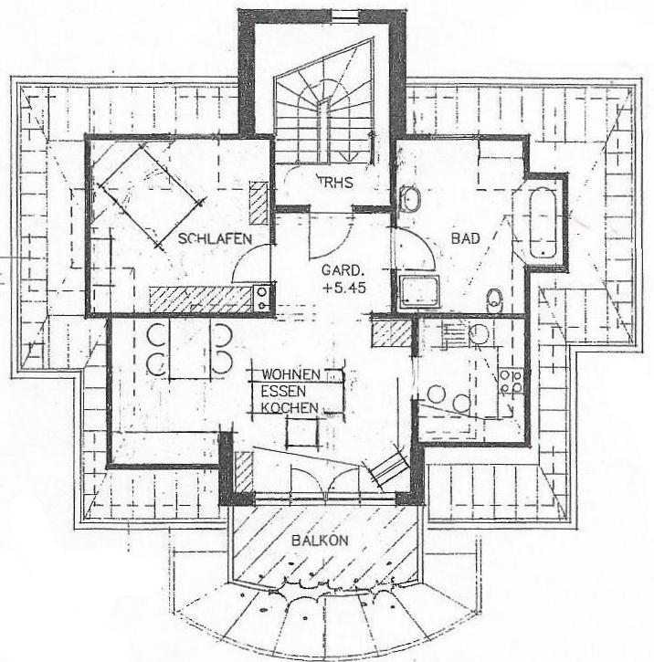 Grundriss Wohnung Dachgeschoss