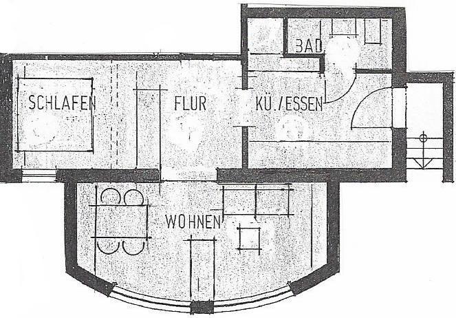 Grundriss Wohnung Untergeschoss
