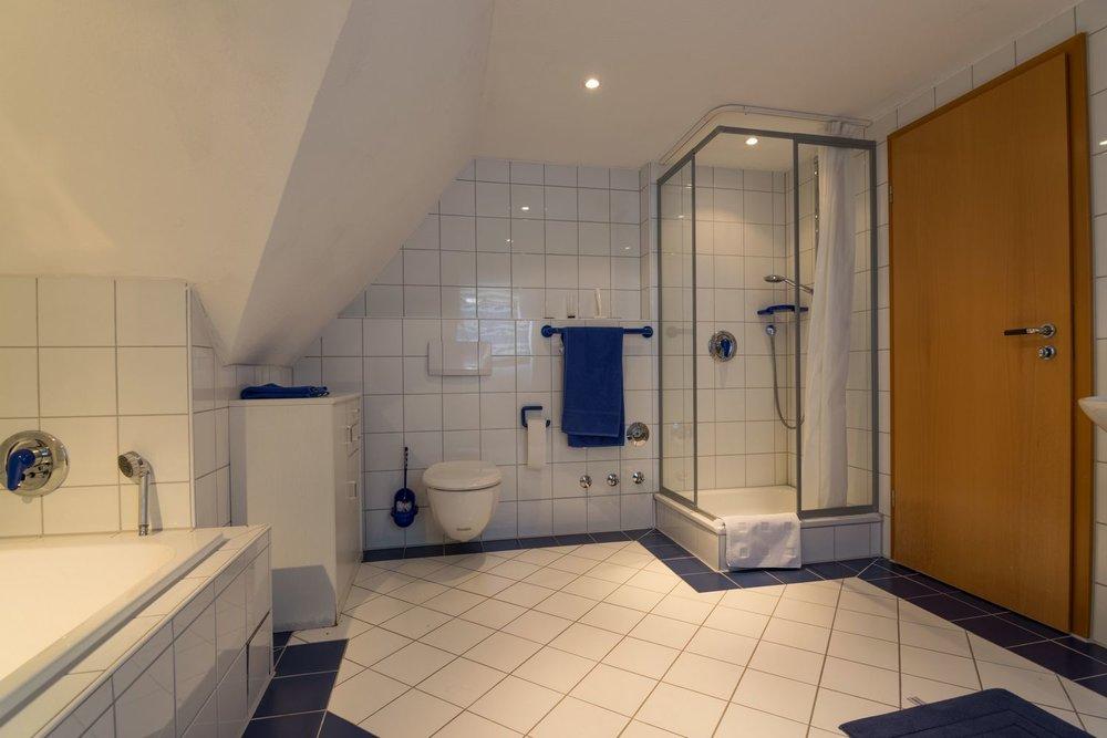 Apartment / Badezimmer / Dusche