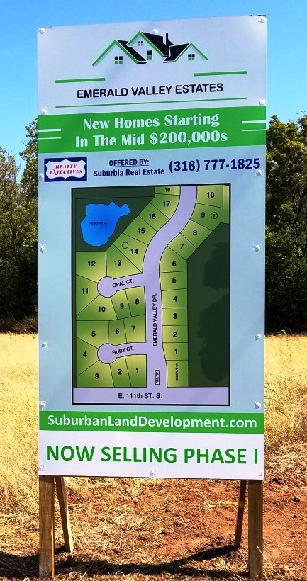 Contact Realty Executives Suburbia Real Estate for more information at (316) 777-1825 or SuburbanLandDevelopment@gmail.com.