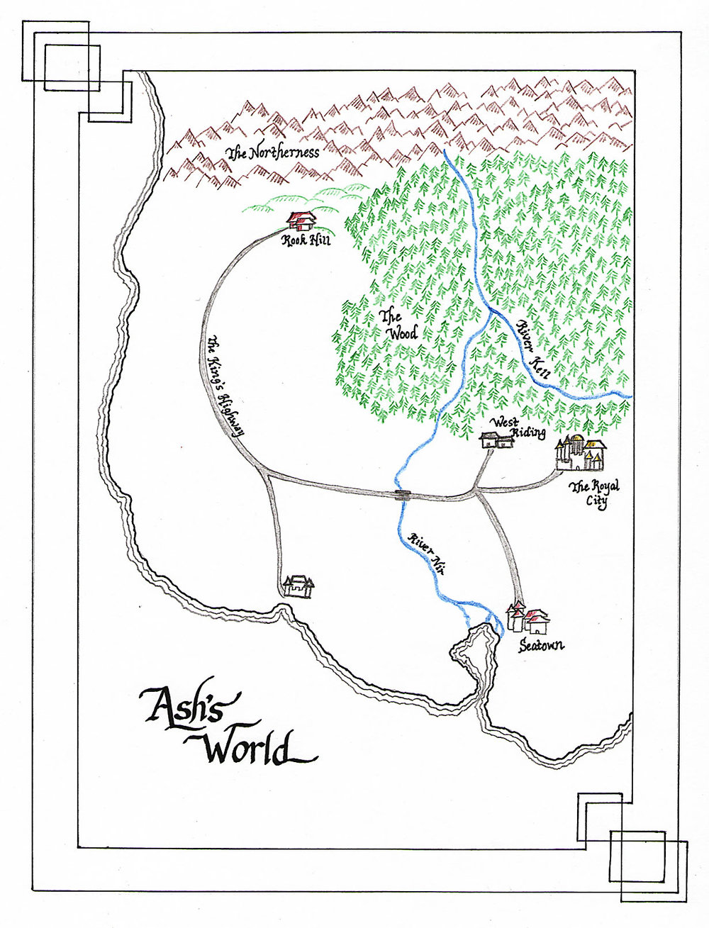 A map of Ash's world