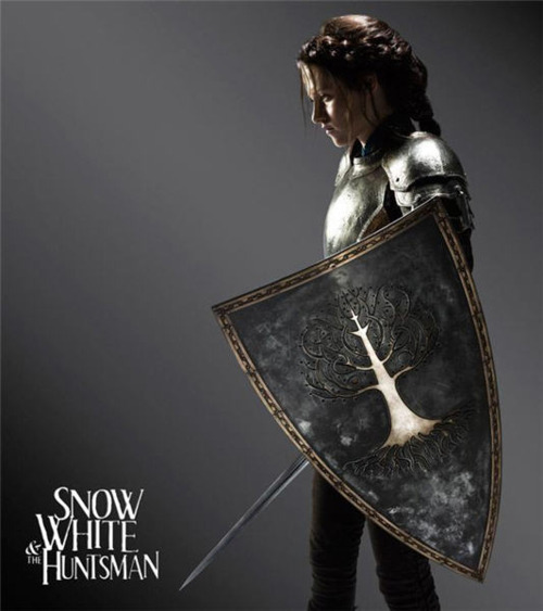 "This image shows actress Kristen Stewart in her role as Snow White in ""Snow White and the Huntsman"""