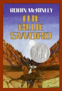 Original cover for The Blue Sword by Robin McKinley